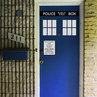 "Tardis Door Kit - FITS 24"" to 32"" DOORS"