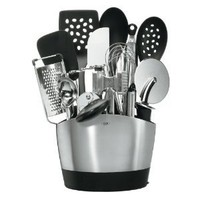 OXO Good Grips 15-Piece Everyday Kitchen Tool Set: Kitchen & Dining