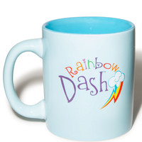Vandor Rainbow Dash Ceramic Mug Blue One