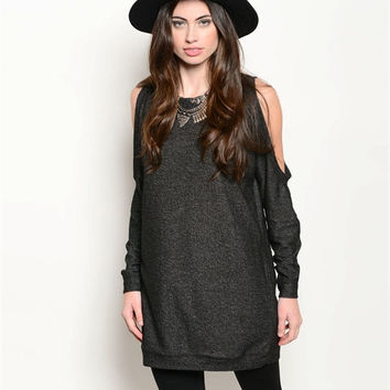 Oversized Cut Out Sweater