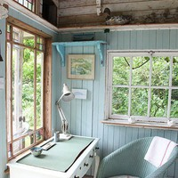 dreams of a backyard studio / House of Turquoise on we heart it / visual bookmark #3232506