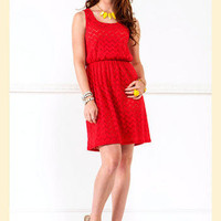 Flaming Hot Dress