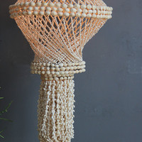 Boho Shell Hanging Light