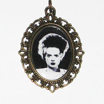 Bride Of Frankenstein Necklace