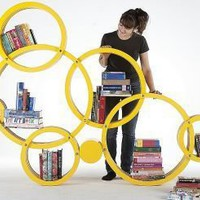 Bookshelf: Circus shelving