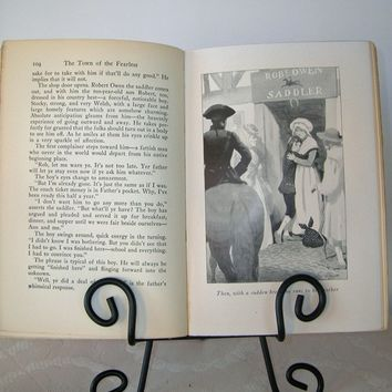 Vintage Book, Vintage Item Collectors Book, Classic Literature, First Edition Book, The Town of the Fearless by Caroline Dale Snedeker