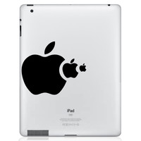 Apple Eat Apple | iPad Decals | The Decal Guru