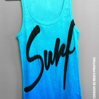 Women's Tank Surf beach island spring summer tank top clothing sand hawaii barbie style