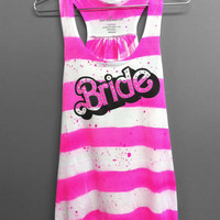 Bride Shirt - Barbie Bride Tank Top