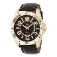 U.S. Polo Assn. Men`s US5160 Brown Dial Brown Strap Watch