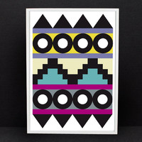 Aztec Print 2 by Rhonda Drakeford - Darkroom - A concept store on London's Lamb's Conduit St