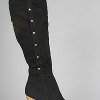 The Alaina II Boot in Black by *Sole Boutique