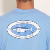Mens T-Shirts: Fall Albacore Patch Pocket T-Shirt – Vineyard Vines