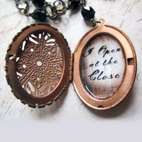 I Open At The Close Horcrux Resin Locket Deathly by OverTheTop