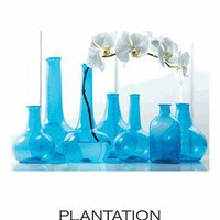 Recycled Vases Set | Blue