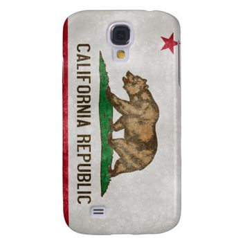 California Grunge Flag Galaxy S4 Case
