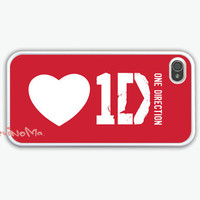 One Direction, iPhone 4 Case, iPhone 4s Case, iPhone 4 Hard Case, One Direction Pattern iPhone Case
