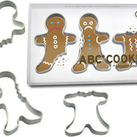 ABC* COOKIE CUTTERS - GINGERBREAD MEN