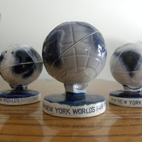 World&#x27;s Fair 1964 New York  Salt and Pepper Shakers