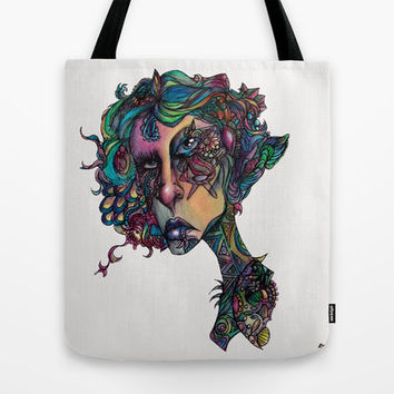 All in The Colors Tote Bag by Ben Geiger