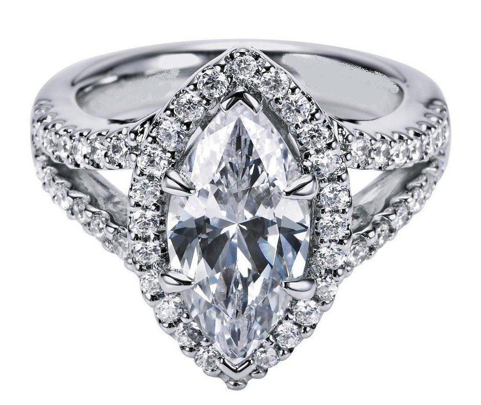 Engagement Ring Marquise Diamond from MDC Diamonds