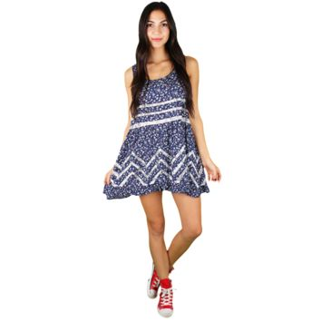 DITSY HI-LOW DRESS | Heart of Luxe