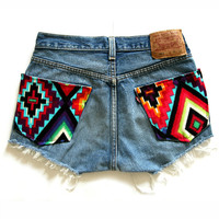 PJ Denim: PRISM Shorts