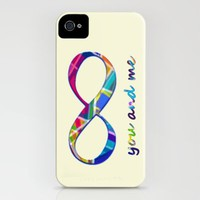 You & Me Infinity iPhone Case by gretzky | Society6