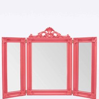 Ornate Mirror in Red - Urban Outfitters