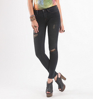 Dark Gray Wash Skinniest Jeans