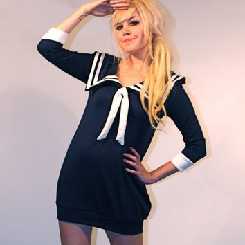 Sailor Dress MADE TO ORDER
