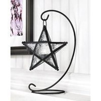 Graceful Starlight Tabletop Candle Lantern  - Candle Holders & Accessories