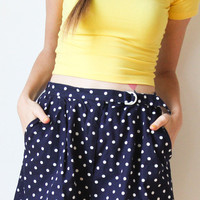 tea and tulips boutique - one of a kind vintage. — nothing better than dots shorts