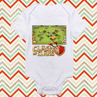 Clash Of Clans Game Build baby shirt Onesuit, Clash of clans baby Onesuit, baby Onesuit, shirt baby Onesuit, christmas shirt baby Onesuit
