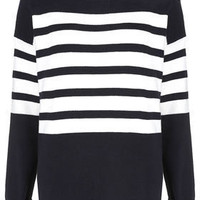 Knitted Clean Stripe Jumper - New In This Week  - New In