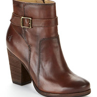 Frye Patty Riding Leather Booties Shoes 3476983-RDD at BareNecessities.com
