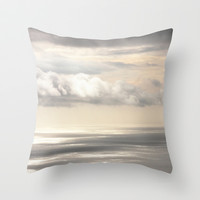 Painterly View - from Funchal Madeira - JUSTART © Throw Pillow by JUSTART  * Syl *
