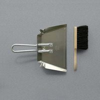 Aluminium Dustpan and Brush