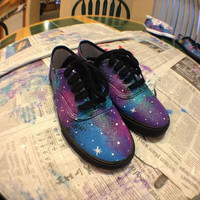 Women&#x27;s Cotton Candy Galaxy Shoes