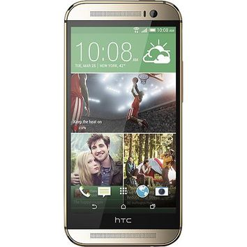 HTC - One (M8) 4G LTE Cell Phone with 32GB Memory - GRAY (Verizon Wireless)