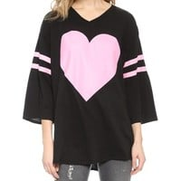 Wildfox Barefoot Heart Tunic