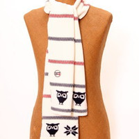 Knowledge Cotton Apparel Organic Cotton Scarf - ekovaruhuset