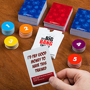 Bazinga! Big Bang Theory Party Game