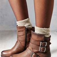 Vagabond Nadia Leather Moto Boot- Brown