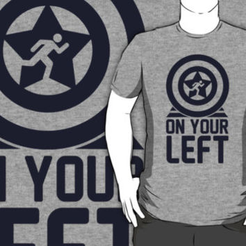 On Your Left on a Unisex Tank Top