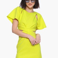 Flutter Citrus Dress