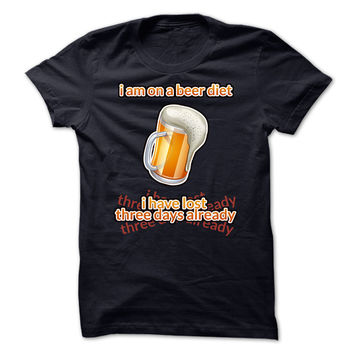 Beer Diet - Funny T-Shirt