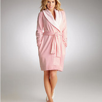 UGG Australia Blanche Shawl Collar Robe Sleepwear UA5178W at BareNecessities.com