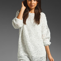BY ZOE Esky Sweater in Light Grey from REVOLVEclothing.com