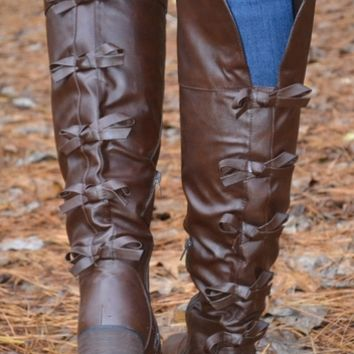 Beautiful Bow Boots